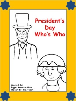 Presidents Day Who's Who