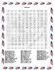 President's Day Word Search- Harder 43 Words