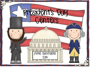 President's Day Word Work