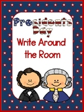 Presidents Day Write Around the Room