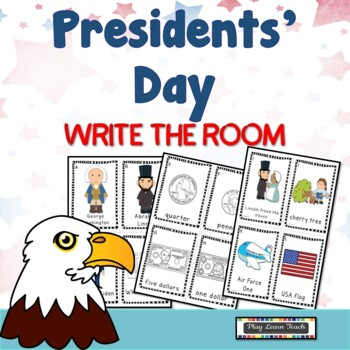 Presidents' Day Write the Room
