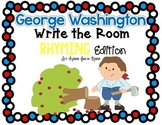 President's Day Write the Room - Rhyming Edition