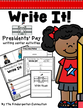 Presidents Day Writing Center Activities