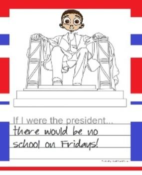 President's Day Writing Freebie (K-3)