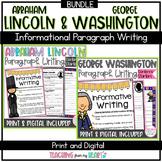 Abraham Lincoln & George Washington Writing Black History