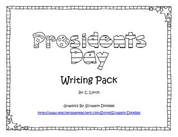 President's Day Writing Pack