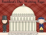 President's Day Writing Packet
