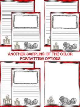 Presidents' Day Writing Paper/Presidents' Day Writing Stationary--DIFFERENTIATED