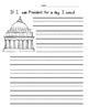 Presidents Day Writing Prompt Worksheet