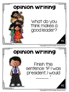 Presidents Day Writing Prompts: Opinion, Informative, Narrative: K-2