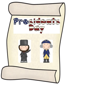 President's Day Writing and Facts Packet