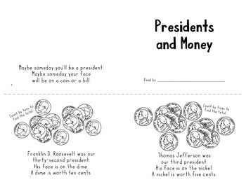 Presidents and Money mini-Reader
