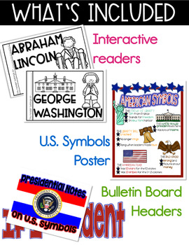 Presidents' Day and Patriotic Symbols Activities