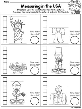 Presidents' Day and U.S. Symbols (Kindergarten)