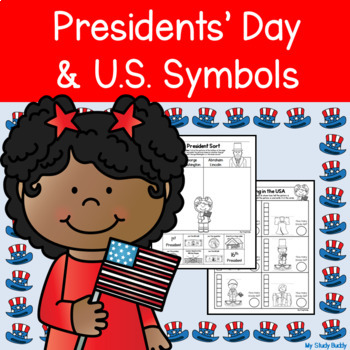 Presidents' Day and U.S. Symbols (President's Day Activities for Kindergarten)