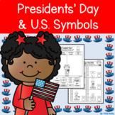 Presidents' Day and U.S. Symbols (Kindergarten, President'