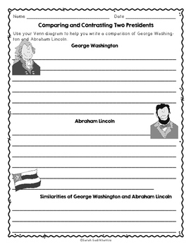 Presidents' Day by David E. Marx, Guided Reading Level I Lesson Plan