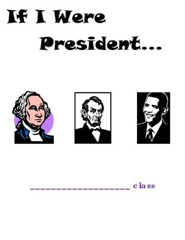 Presidents Day cover pages