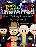 Presidents Day iPad App Video Activity for Reading & Writing