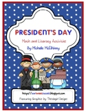 Presidents' Day (math and literacy)