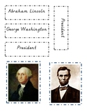 Presidents Day sorting activity