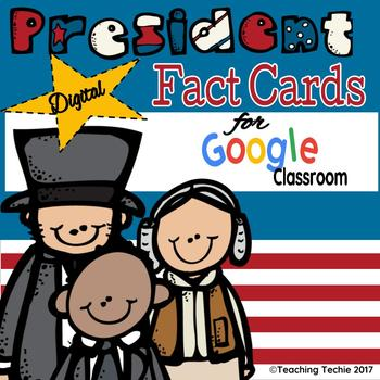 Presidents Fact Cards