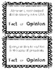Presidents Fact and Opinion Center / Lesson