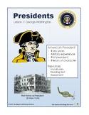 Presidents Lesson 1 - Washington