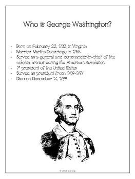 Presidents : George Washington, Abraham Lincoln & Thomas Jefferson