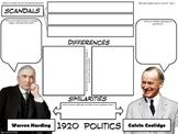 Presidents: Harding & Coolidge Graphic Organizer