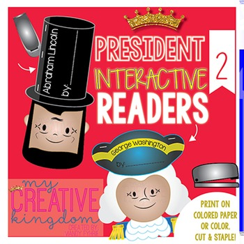 Presidents Interactive Reader Craftivity
