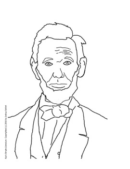 SL Clip Art - Presidents - Line Drawings - classroom, home or in TPT resources
