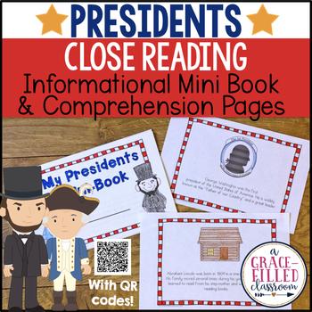Close Reading Presidents Mini-Book