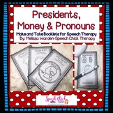 Presidents, Money and Pronouns Make and Take Booklets for