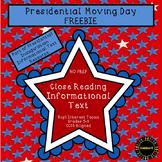 Presidential Moving Day Freebie