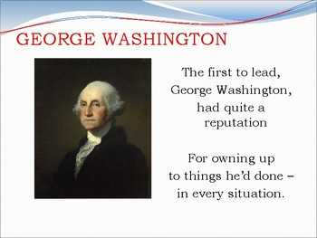 Presidents Poem: Interesting Facts About Each U.S. President
