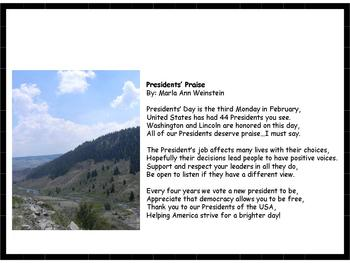 Presidents' Praise Poem
