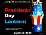 Presidents Day ::  Presidents Day Craft  ::  Presidents Da