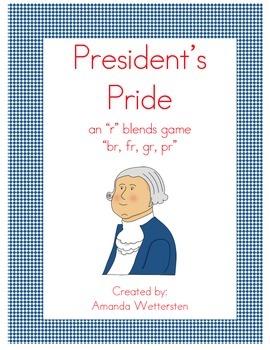 "President's Pride ""r"" blends Game"