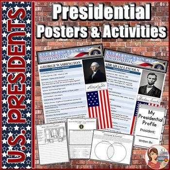 President Posters & Activities