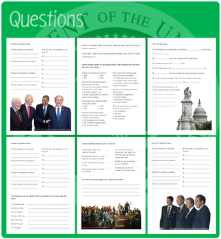 Presidents (Puzzles & Fun Stuff)