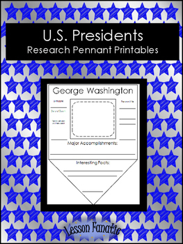 Presidents Research Pennant Posters
