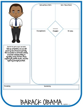 Presidents, Research Project, Set 2, Flip Book, Writing Prompts, President's Day
