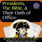 Presidents, The Bible, and Their Oath of Office