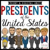 Presidents Day - Presidents Unit