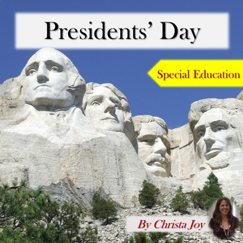 Presidents' Day Unit for Special Education