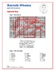 Barack Obama - U.S. Presidents Word Search and Fill in the Blanks