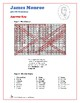 James Monroe - U.S. Presidents Word Search and Fill in the Blanks