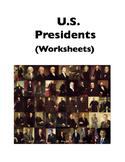 Presidents (Worksheets)