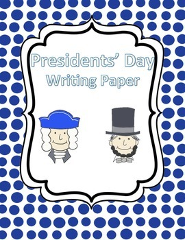 Presidents Writing Paper
